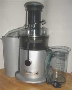 The Natural Health Perspective recommends the Breville Fountain Plus Juicer