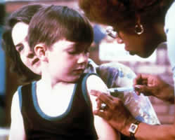 Parents are delaying vaccinations for their children.